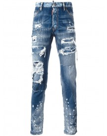 Dsquared2 - Cool Guy Distressed Spot Jeans - Men - Cotton/spandex/elastane - 52 afbeelding