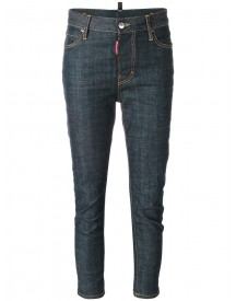 Dsquared2 - Cropped Jeans - Women - Cotton/spandex/elastane - 38 afbeelding