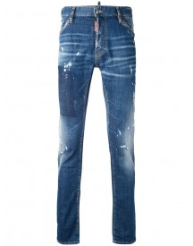 Dsquared2 - Distressed Cool Guy Jeans - Men - Cotton/spandex/elastane - 50 afbeelding