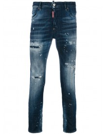 Dsquared2 - Distressed Skater Jeans - Men - Cotton/spandex/elastane - 54 afbeelding