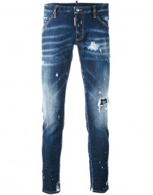 Dsquared2 - Distressed Skinny Jeans - Men - Cotton/spandex/elastane - 50 afbeelding