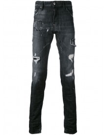 Dsquared2 - Distressed Skinny Jeans - Men - Cotton/spandex/elastane - 52 afbeelding