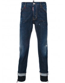 Dsquared2 - Elasticated Cuff Cool Guy Jeans - Men - Cotton/polyester/spandex/elastane - 46 afbeelding