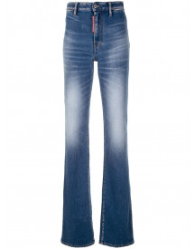 Dsquared2 Flared Jeans - Blauw afbeelding