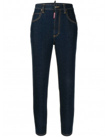 Dsquared2 High-waist Jeans - Blauw afbeelding