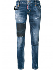 Dsquared2 Jennifer Cropped Jeans - Blauw afbeelding