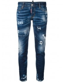 Dsquared2 - Jennifer Jeans - Women - Cotton/elastodiene - 42 afbeelding