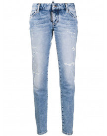 Dsquared2 Low Waist Jeans - Blauw afbeelding