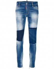 Dsquared2 - Medium-waisted Skinny Jeans - Women - Cotton/spandex/elastane - 42 afbeelding