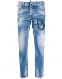 Dsquared2 Rave On Jeans - Blauw afbeelding