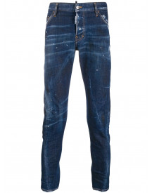 Dsquared2 Sexy Twist Jeans - Blauw afbeelding