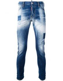Dsquared2 - Sexy Twist Jeans - Men - Cotton/polyester/spandex/elastane - 44 afbeelding