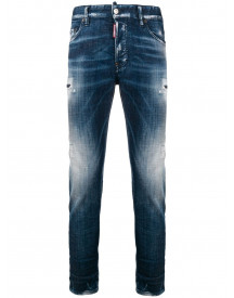 Dsquared2 Skater Jeans - Blauw afbeelding
