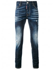 Dsquared2 - Skater Jeans - Men - Cotton/calf Leather/polyester/spandex/elastane - 48 afbeelding