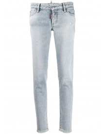 Dsquared2 Skinny Jeans - Blauw afbeelding