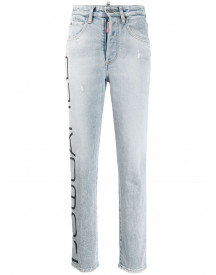 Dsquared2 Slim-fit Jeans - Blauw afbeelding