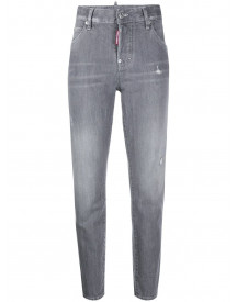 Dsquared2 Straight Jeans - Grijs afbeelding