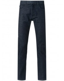 Egrey - Straight Denim (blue) Pants - Men - Cotton - 42 afbeelding