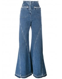 Esteban Cortazar - High Waisted Flared Jeans - Women - Cotton - 40 afbeelding
