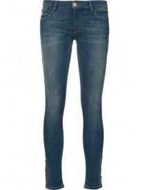 Etienne Marcel - Stretch Cropped Skinny Jeans - Women - Cotton/polyamide/spandex/elastane - 25 afbeelding