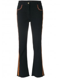 Etro - Cropped Jeans - Women - Cotton/spandex/elastane/viscose/polyester - 26 afbeelding
