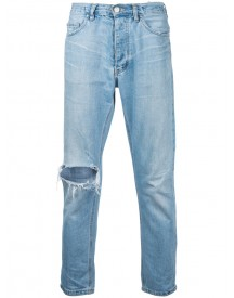 Ex Infinitas - Classic Slim Cropped Jeans - Men - Cotton - 28 afbeelding