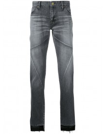 Factotum - Panelled Step Hem Jeans - Men - Cotton - 29 afbeelding