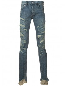 Fagassent - Kagero Super Skinny Jeans - Men - Cotton/polyurethane - 5 afbeelding