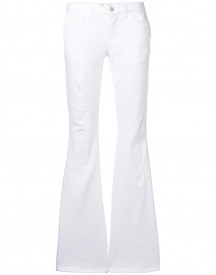 Faith Connexion Flared Jeans - Wit afbeelding