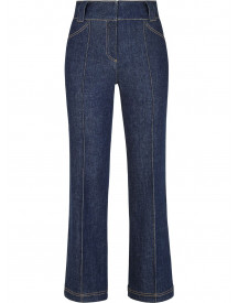 Fendi Cropped Jeans - Blauw afbeelding