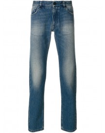 Fendi - Stonewashed Jeans With Embroidery - Men - Cotton - 34 afbeelding