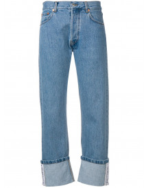 Forte Dei Marmi Couture Cropped Straight Jeans - Blauw afbeelding