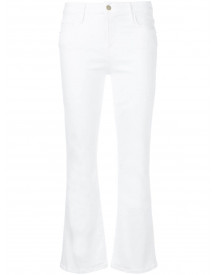 Frame Bootcut Jeans - Wit afbeelding