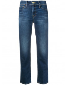 Frame Cropped Jeans - Blauw afbeelding