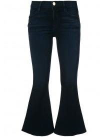 Frame Denim - Kickflare Cropped Jeans - Women - Cotton/modal/polyester/spandex/elastane - 25 afbeelding