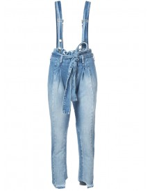 Frame Denim - Suspender Jeans - Women - Cotton - 30 afbeelding