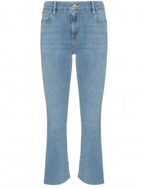 Frame Le Crop Gusset Jeans - Blauw afbeelding