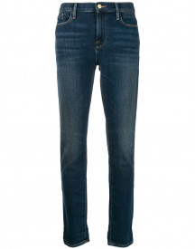 Frame Skinny Jeans - Blauw afbeelding