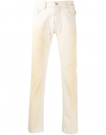 Frankie Morello Straight Jeans - Nude afbeelding