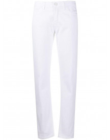 Frankie Morello Straight Jeans - Wit afbeelding