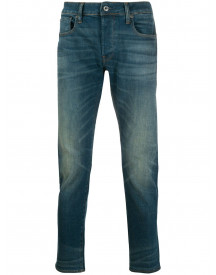G-star Raw Slim-fit Jeans - Blauw afbeelding