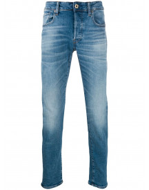 G-star Raw Research Slim-fit Jeans - Blauw afbeelding