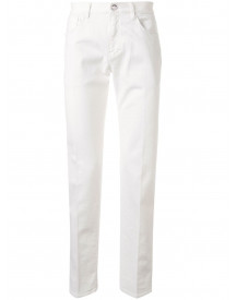 Giorgio Armani Straight Jeans - Wit afbeelding