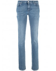 Givenchy - Star Patch Skinny Jeans - Women - Cotton/polyester/spandex/elastane - 36 afbeelding