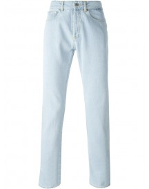 Givenchy - Stonewashed Jeans - Men - Cotton/leather - 32 afbeelding
