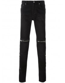 Givenchy - Zip Detail Slim-fit Jeans - Men - Cotton/spandex/elastane - 31 afbeelding