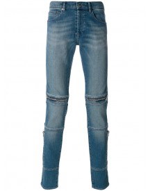 Givenchy - Zip Trim Slim Fit Jeans - Men - Cotton/spandex/elastane - 33 afbeelding