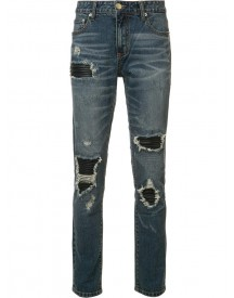 God's Masterful Children - Ripped Skinny Jeans - Men - Cotton/polyester - 32 afbeelding