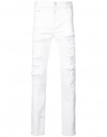 God's Masterful Children Slim-fit Jeans - Wit afbeelding