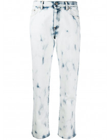 Golden Goose Straight Jeans - Wit afbeelding